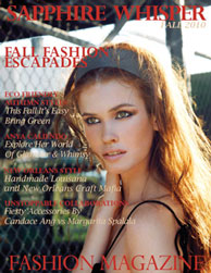 Sapphire Whisper Fall 2010 Issue